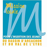 logo Mission locale Bassin d'Arcachon