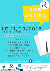 JOB DATING CONSTRUCTION 11092018